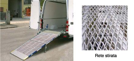 Rampe di carico per furgoni usate dispositivo arresto for Rampe di carico per auto